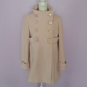 Bebe Princess pea coat M